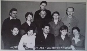 nauczyciele w 1965r.
