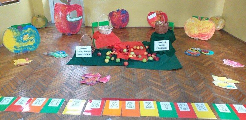 Dzień jabłka w przedszkolu