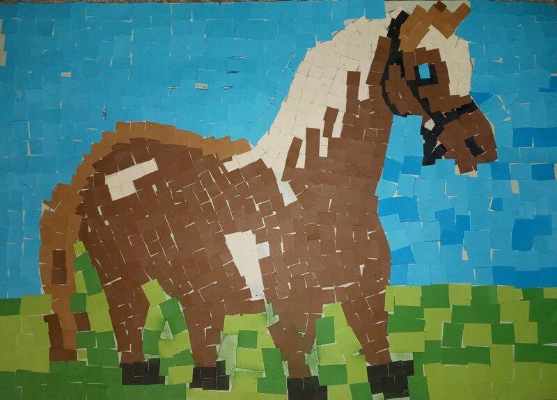 Przemek Łysoniek - mozaika