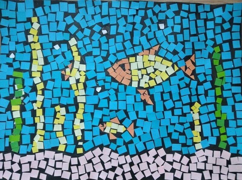 Wiktoria Trela - mozaika