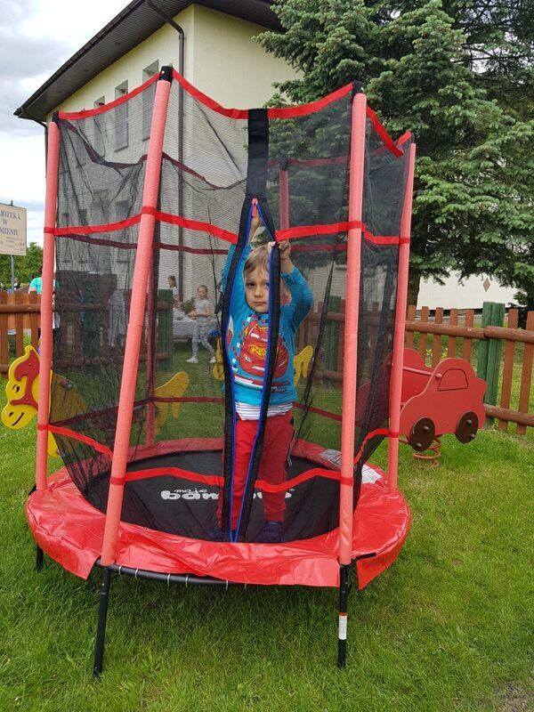 trampolina w prezencie