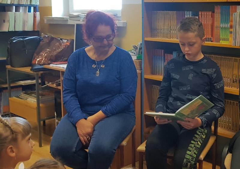 Narodowe Czytanie czyta Hubert